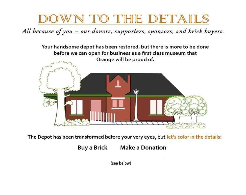 donate to the depot