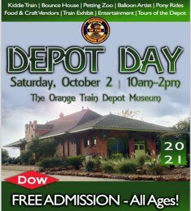 2021 Depot Day Flyer